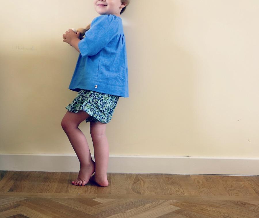 ruffle shorts 3
