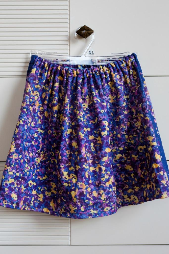 gathered skirt 2