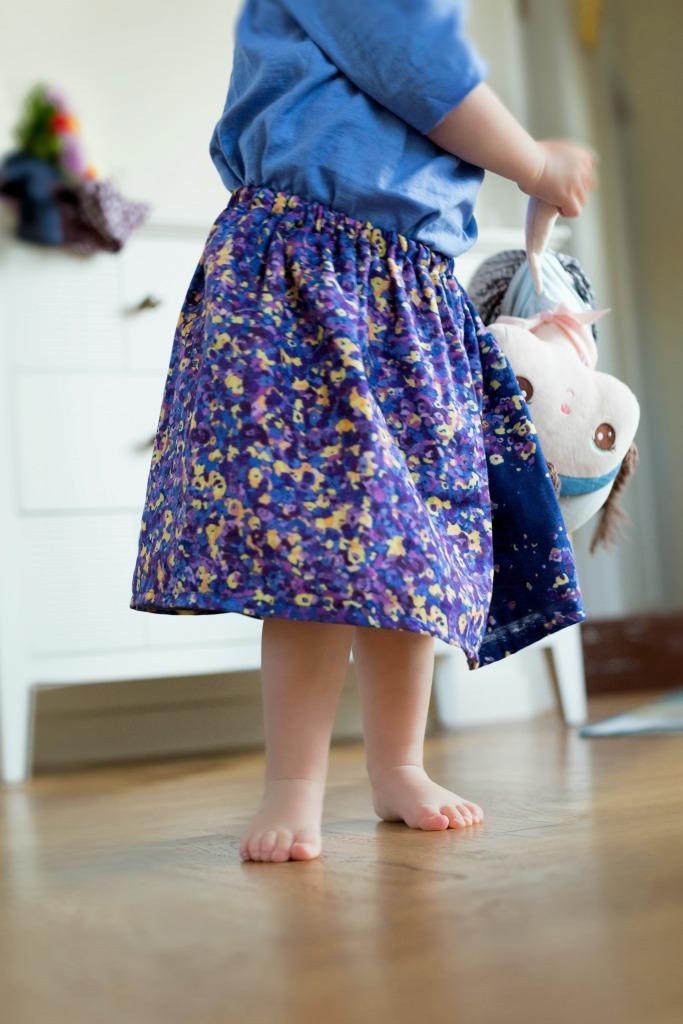 gathered skirt 4